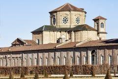 Sant Uberto kościół - Venaria Real Obrazy Stock