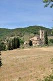 Sant& x27; Abadía de Antimo Fotos de archivo