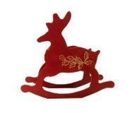 Santa's驯鹿雪橇-圣诞节 库存照片