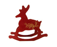 Santa's Reindeer Sleigh - Christmas Stock Photos