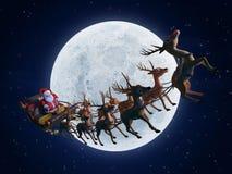 Santa´s sleigh Royalty Free Stock Image