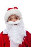 Santa è così felice Immagini Stock Libere da Diritti