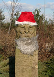 Santa é um Viquingue. fotografia de stock