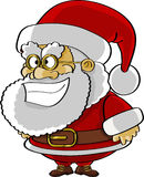 Santa śmieszna kreskówka Fotografia Royalty Free