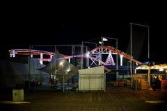 santa αποβαθρών νύχτας της Μόνικα Στοκ φωτογραφίες με δικαίωμα ελεύθερης χρήσης