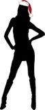 santa αρωγών προκλητικό Στοκ εικόνα με δικαίωμα ελεύθερης χρήσης