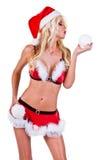santa αρωγών Χριστουγέννων Στοκ εικόνα με δικαίωμα ελεύθερης χρήσης
