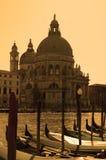 santa Βενετία χαιρετισμού τη&sigmaf Στοκ Εικόνες