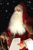 santa γραμμάτων s Claus παιδιών παραδ&omic στοκ εικόνες