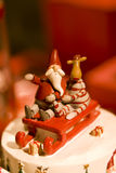 santa διακοσμήσεων Claus Χριστο&upsi Στοκ φωτογραφία με δικαίωμα ελεύθερης χρήσης