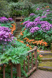 santa κήπων της Barbara Στοκ Εικόνα