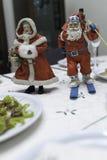 Santa και οι Δεσποινίες στοκ εικόνα με δικαίωμα ελεύθερης χρήσης