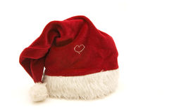 santa καπέλων προτάσεων στοκ εικόνες