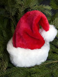 santa καπέλων Χριστουγέννων Στοκ Εικόνες