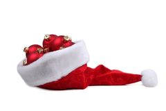 santa καπέλων Στοκ εικόνες με δικαίωμα ελεύθερης χρήσης