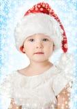 santa καπέλων Claus Χριστουγέννων μ& Στοκ φωτογραφία με δικαίωμα ελεύθερης χρήσης