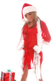 santa κας Claus προκλητικό Στοκ φωτογραφία με δικαίωμα ελεύθερης χρήσης