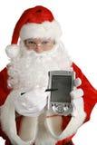 santa μηνυμάτων Χριστουγέννων Στοκ Εικόνες