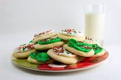 santa μπισκότων Στοκ εικόνες με δικαίωμα ελεύθερης χρήσης
