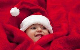 santa μωρών στοκ φωτογραφίες