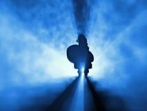 santa ομίχλης Claus Στοκ εικόνα με δικαίωμα ελεύθερης χρήσης