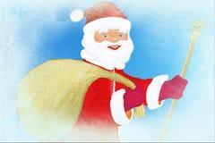 santa παγετού Claus ελεύθερη απεικόνιση δικαιώματος