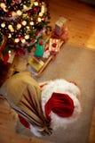 santa παραμονής Claus Χριστουγένν&omega Στοκ φωτογραφίες με δικαίωμα ελεύθερης χρήσης