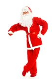 santa προτάσεων Χριστουγέννω&nu Στοκ φωτογραφία με δικαίωμα ελεύθερης χρήσης