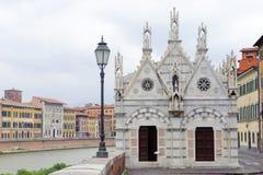 santa ράχη της Μαρίας Πίζα della Στοκ φωτογραφίες με δικαίωμα ελεύθερης χρήσης