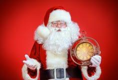 Santa στιγμής Στοκ Φωτογραφίες