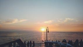 santa της Μόνικα Στοκ φωτογραφία με δικαίωμα ελεύθερης χρήσης