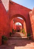 santa του Περού μοναστηριών τη&si Στοκ φωτογραφία με δικαίωμα ελεύθερης χρήσης