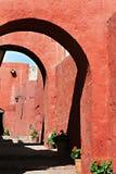 santa του Περού μονών της Catalina arequipa Στοκ Φωτογραφία