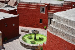 santa του Περού μονών της Catalina arequipa Στοκ φωτογραφία με δικαίωμα ελεύθερης χρήσης