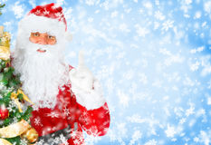 santa Χριστουγέννων Στοκ εικόνα με δικαίωμα ελεύθερης χρήσης