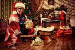 Santa δωματίων Στοκ Εικόνες