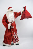 santa δώρων Claus τσαντών Στοκ Εικόνες
