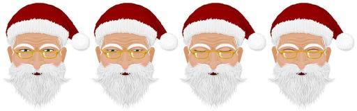 Santa& x27; голова s Стоковое Фото