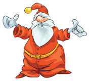 Santa 08 Immagini Stock