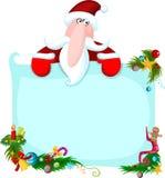 Santa illustrazione di stock