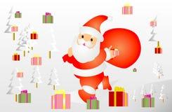 Santa διανυσματική απεικόνιση