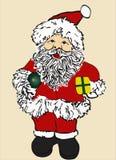 Santa royalty illustrazione gratis
