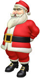 Santa. Cartoon Santa with isolation on a white background Royalty Free Stock Photography