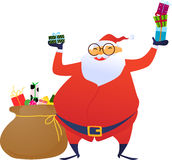 Santa Foto de Stock Royalty Free