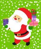 Santa Imagens de Stock