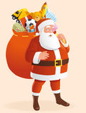Santa Fotografia Stock