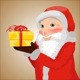 Santa Imágenes de archivo libres de regalías