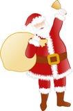 Santa Fotografie Stock