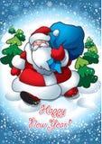 Santa Zdjęcie Stock
