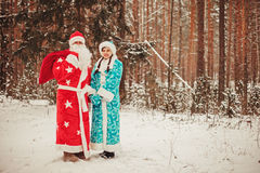 Santa. Obrazy Royalty Free